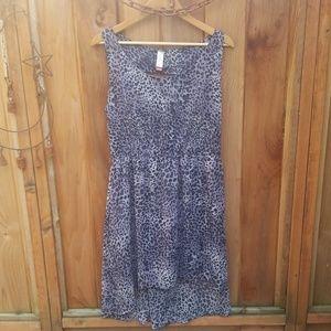 Cheatah print Flowy Dress